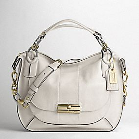 KRISTIN ELEVATED LEATHER SAGE ROUND SATCHEL