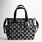 BABY BAG OP ART TOTE