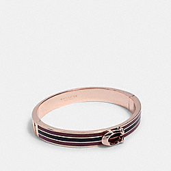 SIGNATURE BANGLE - RE/ROSE/MIDNIGHT NAVY - COACH 1729