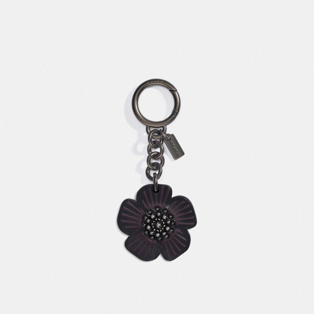 COACH TEA ROSE BAG CHARM - WOMEN'S