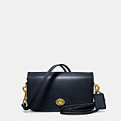 COACH CLASSIC LEATHER SHOULDER PURSE