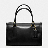COACH CLASSIC LEATHER MADISON SATCHEL