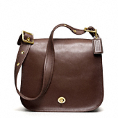 COACH CLASSIC LEATHER STEWARDESS BAG