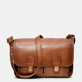 COACH CLASSIC  LEATHER FIELD BAG