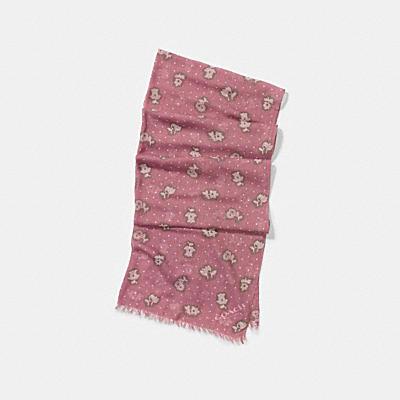 沙漠花卉圍巾