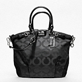 MADISON OP ART SATEEN LINDSEY SATCHEL