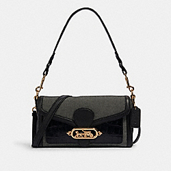 JADE SHOULDER BAG - IM/BLACK - COACH 1938