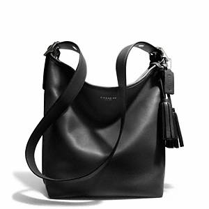 Coach - Legacy Leather Duffle Sv/black