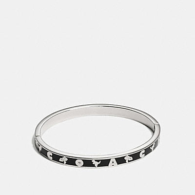 COACH REXY BANDANA ENAMEL BANGLE