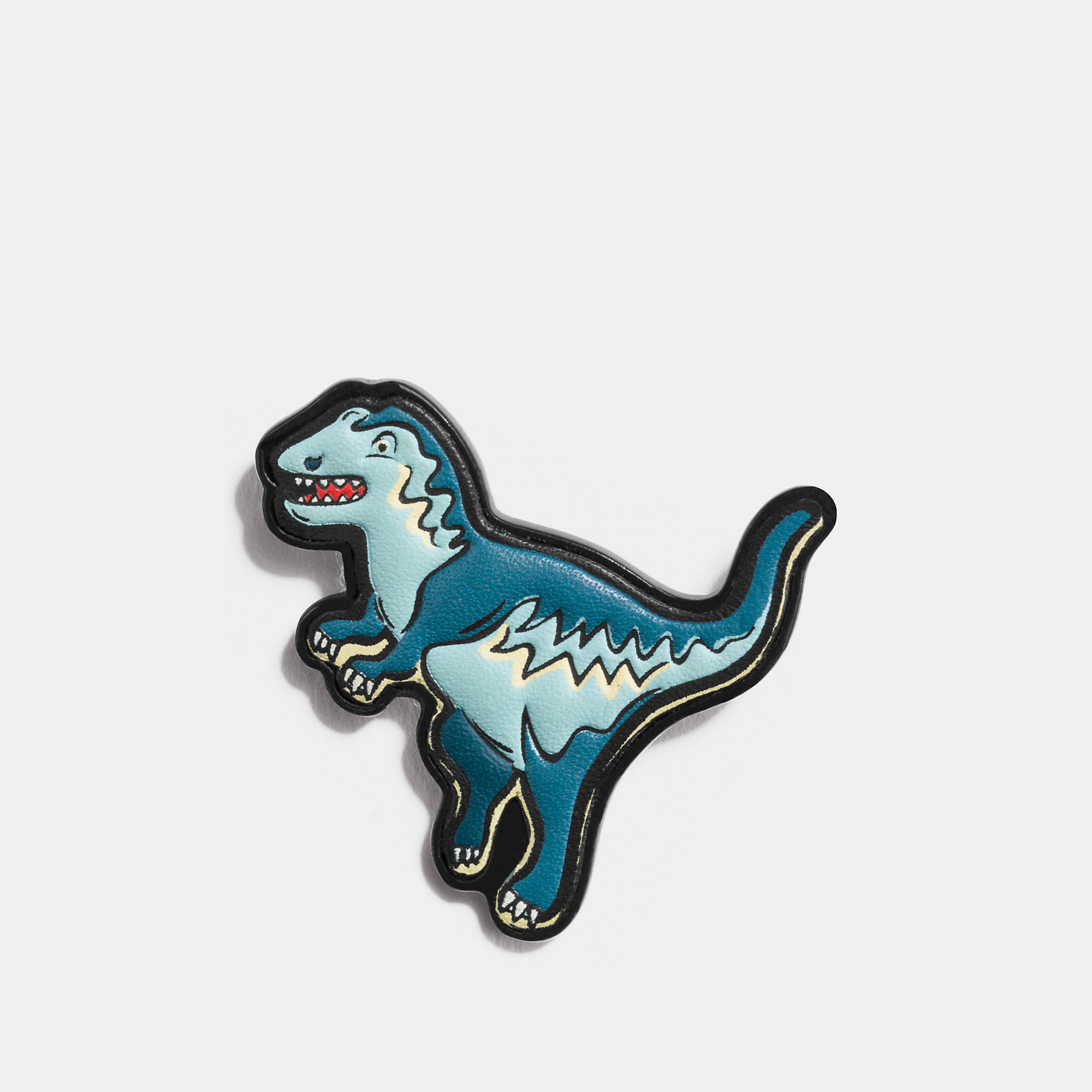 Coach Rexy Leather Pin