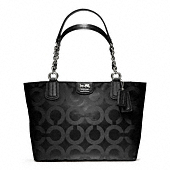 MADISON OP ART SATEEN TOTE