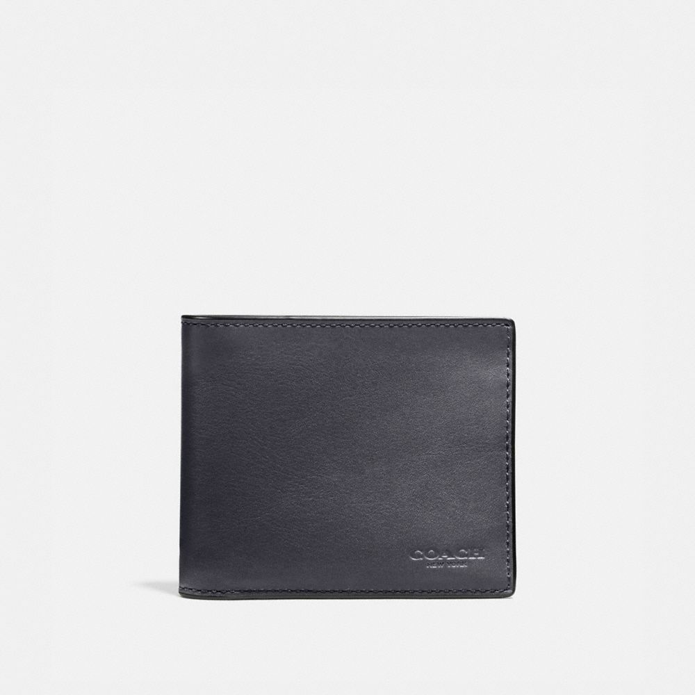 3-IN-1 WALLET IN BURNISHED SPORT CALF LEATHER - Alternate View