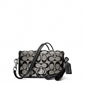 LEGACY SIGNATURE PENNY SHOULDER PURSE