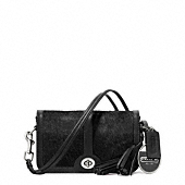 LEGACY HAIRCALF POCKET PENNY SHOULDER PURSE