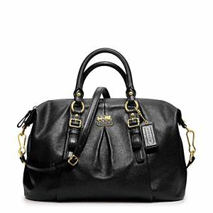 Coach - Madison Leather Juliette B4/black