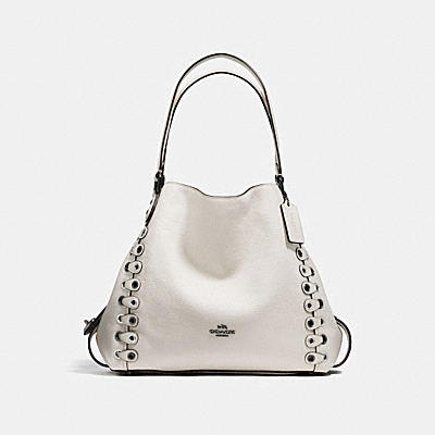 EDIE 31 COACH LINK SHOULDER BAG