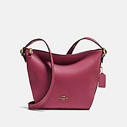SMALL DUFFLETTE - GD/DUSTY PINK - COACH 21377