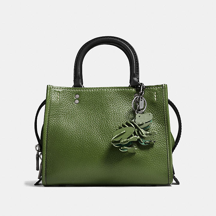 Coach Small Froggy bag charm - Green