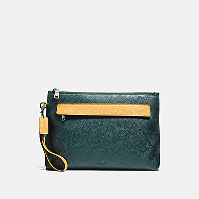 POUCH IN COLORBLOCK