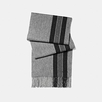 VARSITY 條紋圍巾