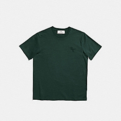 REXY PATCH T-SHIRT - HUNTER - COACH 22060