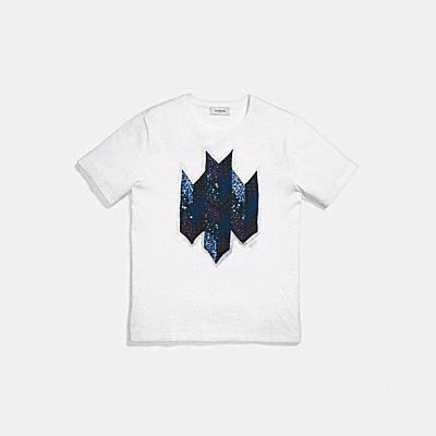 패치워크 티셔츠