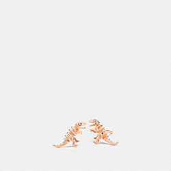 MINI DEMI-FINE REXY STUD EARRINGS - ROSEGOLD - COACH 22168
