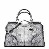 MADISON PINNACLE EMBOSSED PYTHON CAROLINE