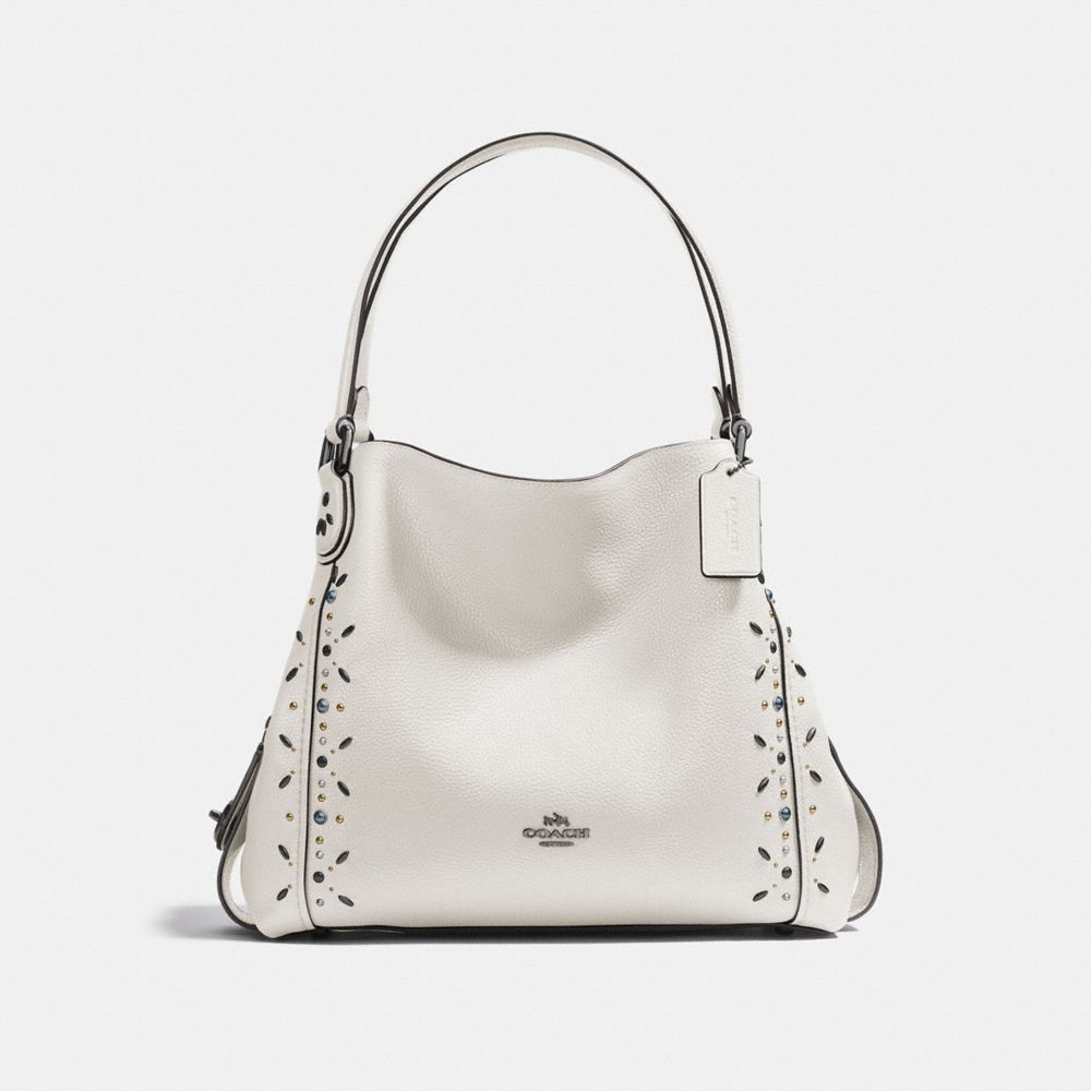 Coach Edie Shoulder Bag 31 With Prairie Rivets