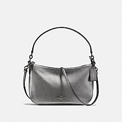 CHELSEA CROSSBODY - DARK GUNMETAL/METALLIC GRAPHITE - COACH 22859