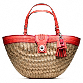STRAW EDITORIAL XL TOTE