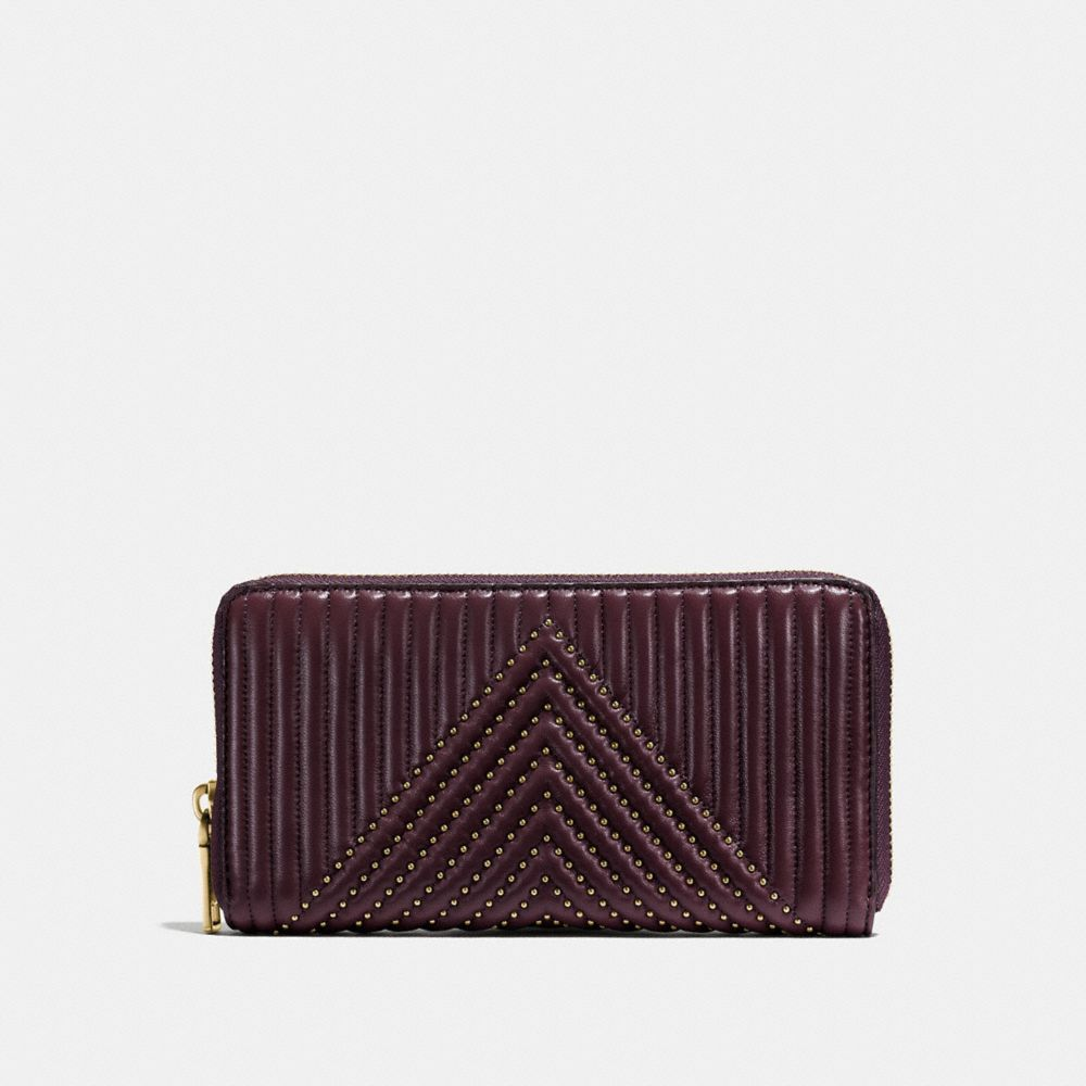 ACCORDION ZIPPED WALLET
