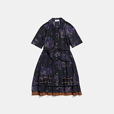 라글란 피스드 드레스