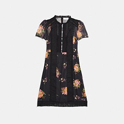 레이스워크 드레스