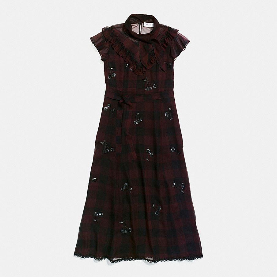 WESTERN DRESS WITH NECKTIE