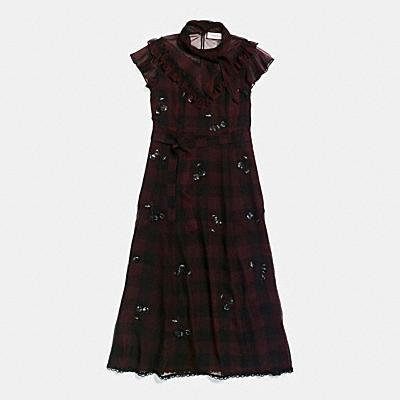 西部風格領結洋裝