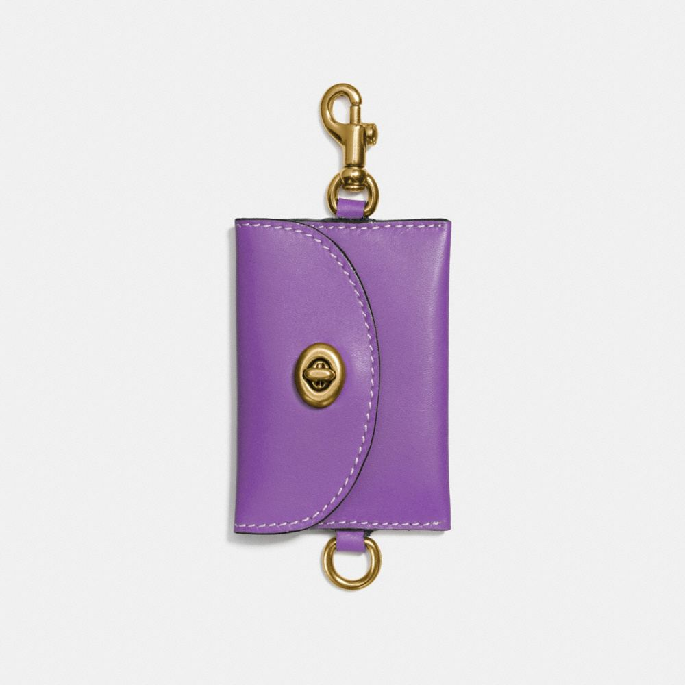 Coach Turnlock Card Pouch