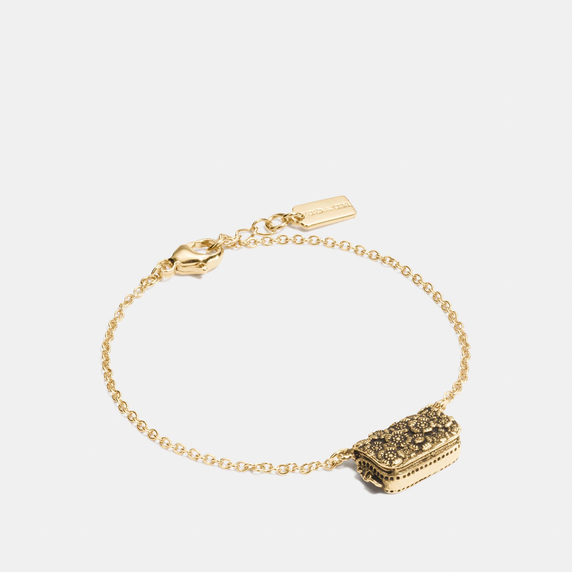 Coach Dinky Chain Bracelet