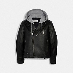 MOTO JACKET - BLACK - COACH 2335
