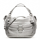 Madison Pinnacle Embossed Metallic Python Eva