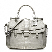 MADISON PINNACLE EMBOSSED METALLIC PYTHON ABBY
