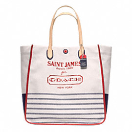 LEGACY WEEKEND SAINT JAMES CANVAS LARGE NORTH/SOUTH TOTE
