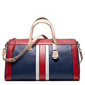 LEGACY WEEKEND BEACH BOSTON BAG IN LEATHER