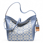 LEGACY WEEKEND PRINTED SIGNATURE SHOULDER BAG