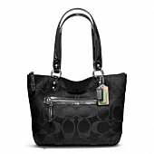 POPPY SIGNATURE SATEEN SMALL TOTE