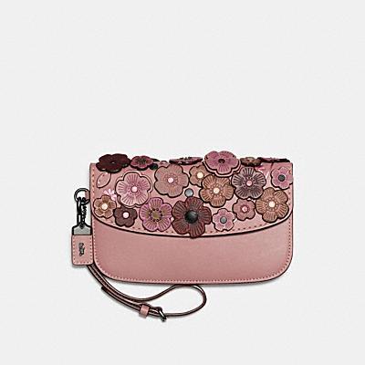 小型茶香玫瑰手拿包