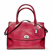 LEGACY PINNACLE EMBOSSED LIZARD LARGE HARPER SATCHEL
