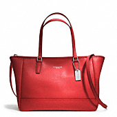 SAFFIANO CROSSBODY CITY TOTE
