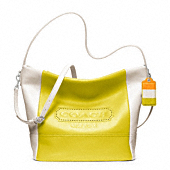 LEGACY WEEKEND COLORBLOCK LEATHER SHOULDER BAG