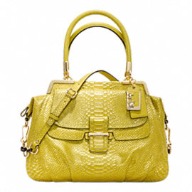 MADISON PINNACLE EMBOSSED METALLIC PYTHON LILLY